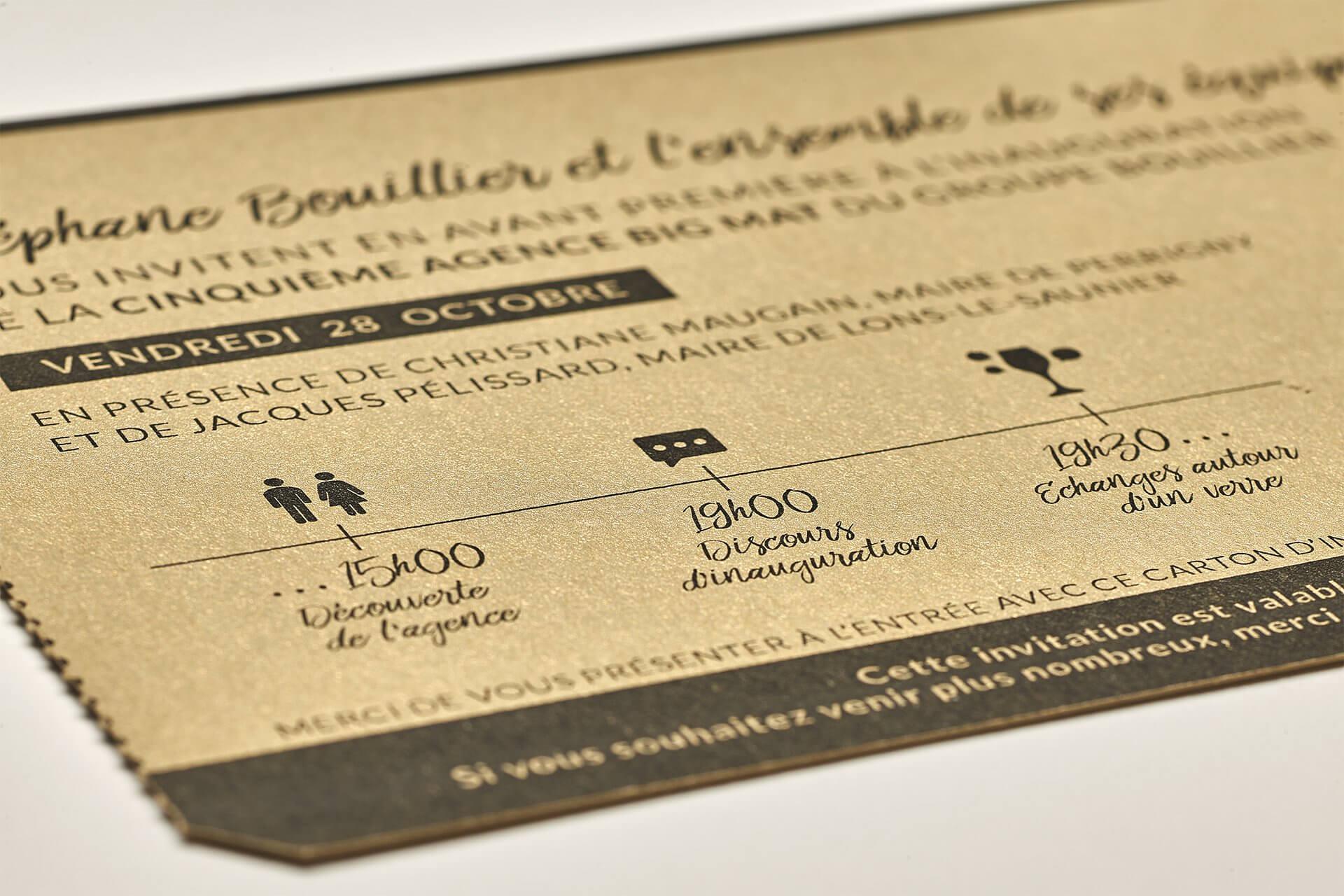 EUREKA - image document print Bouillier